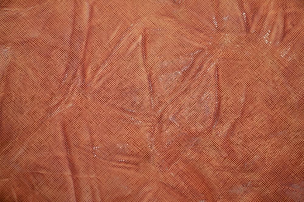 pelle conciata al vegetale